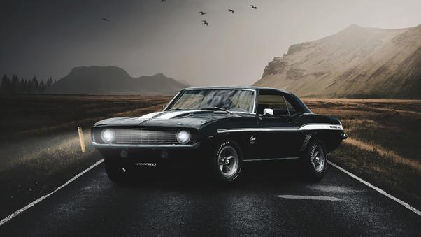 Full HD Shelby Camaro 1964 4k Wallpaper
