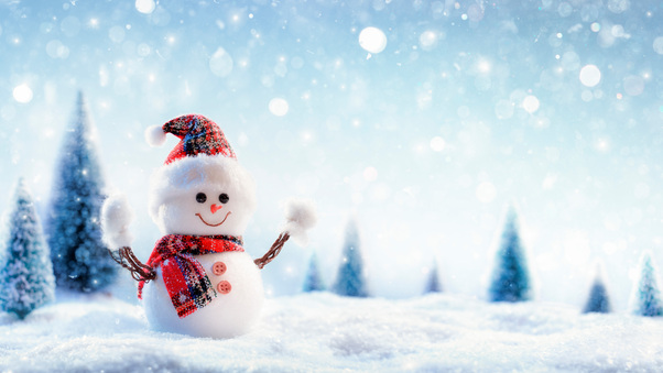 Snowman 8k Hd Photography 4k Wallpapers Images