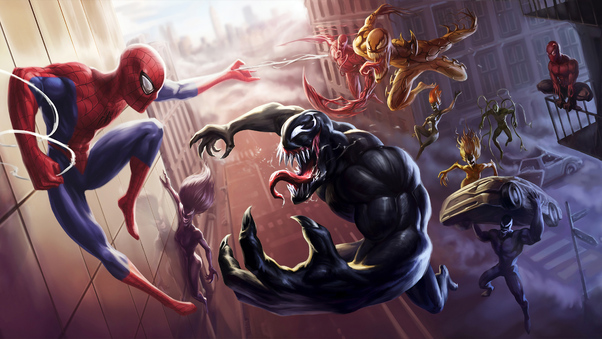 Spider Man Unlimited Venom Carnage 4k, HD Superheroes, 4k ...