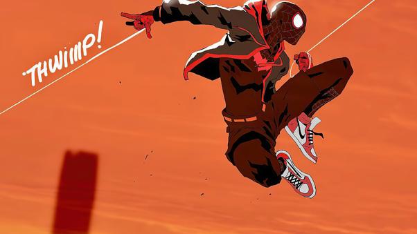 Spiderman Jumping Art 4k, HD Superheroes, 4k Wallpapers ...