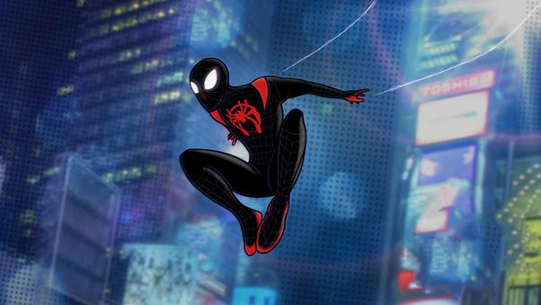 Spiderman Miles Morales Digital Artwork 4k, HD Superheroes ...
