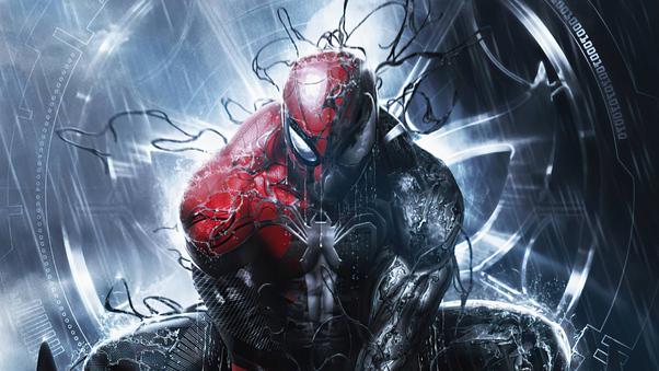 Symbiote Spiderman Comic Book Series 4k, HD Superheroes ...