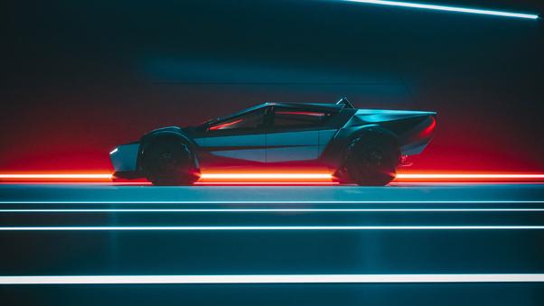 Full HD Tesla Sport Wallpaper