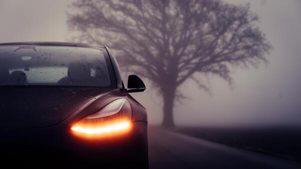 Full HD Tesla Model Exp Photoshoot Wallpaper