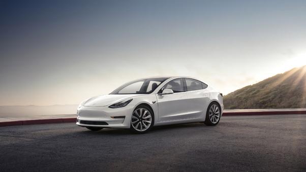 Full HD Tesla Model Exp Wallpaper