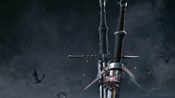 The Witcher 3 Wild Hunt Sword 10k Hd Games 4k Wallpapers Images Backgrounds Photos And Pictures