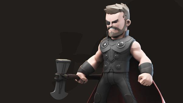 Thor 3d avengers infinity war artwork hd superheroes 4k - Wallpaper avengers 3d ...