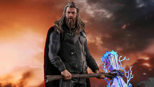 Thor Avengers Endgame Thunder, HD Superheroes, 4k ...