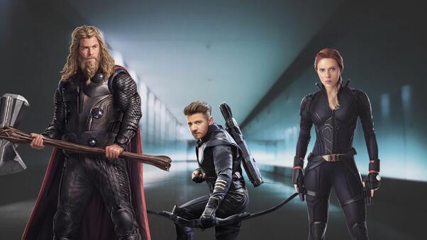 Thor Hawkeye Black Widow, HD Superheroes, 4k Wallpapers ...