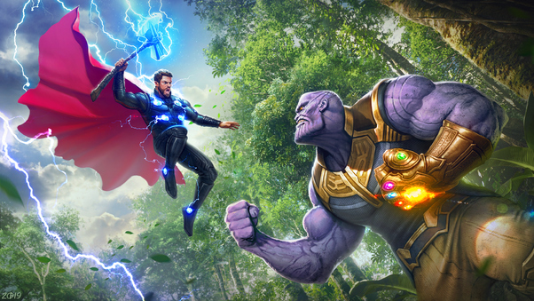 Thor Vs Thanos 4k Hd Superheroes 4k Wallpapers Images
