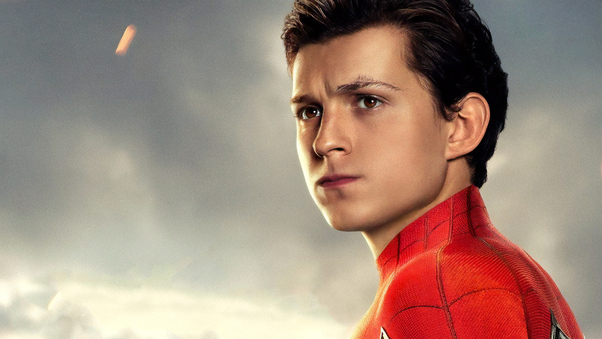 Tom Holland As Peter Parker Spider Man Far From Home ...