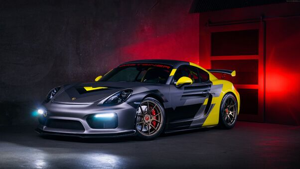 Full HD Vorsteiner Porsche Cayman Gt Wallpaper
