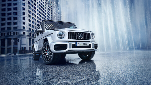 White Mercedes G Wagon, HD Cars, 4k Wallpapers, Images ...
