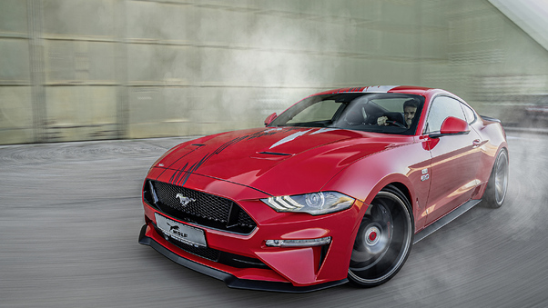 Full HD Red Ford Mustang 4k Wallpaper