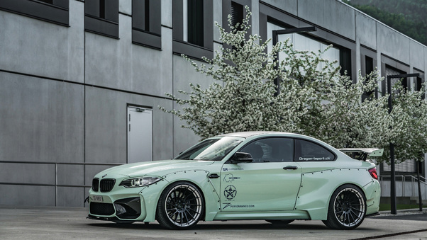 Full HD Bmw M2 Competition M Performance 2018 Rear Wallpaper