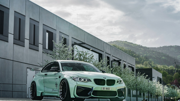 Full HD Z Performance Bmw M2 2018 Wallpaper
