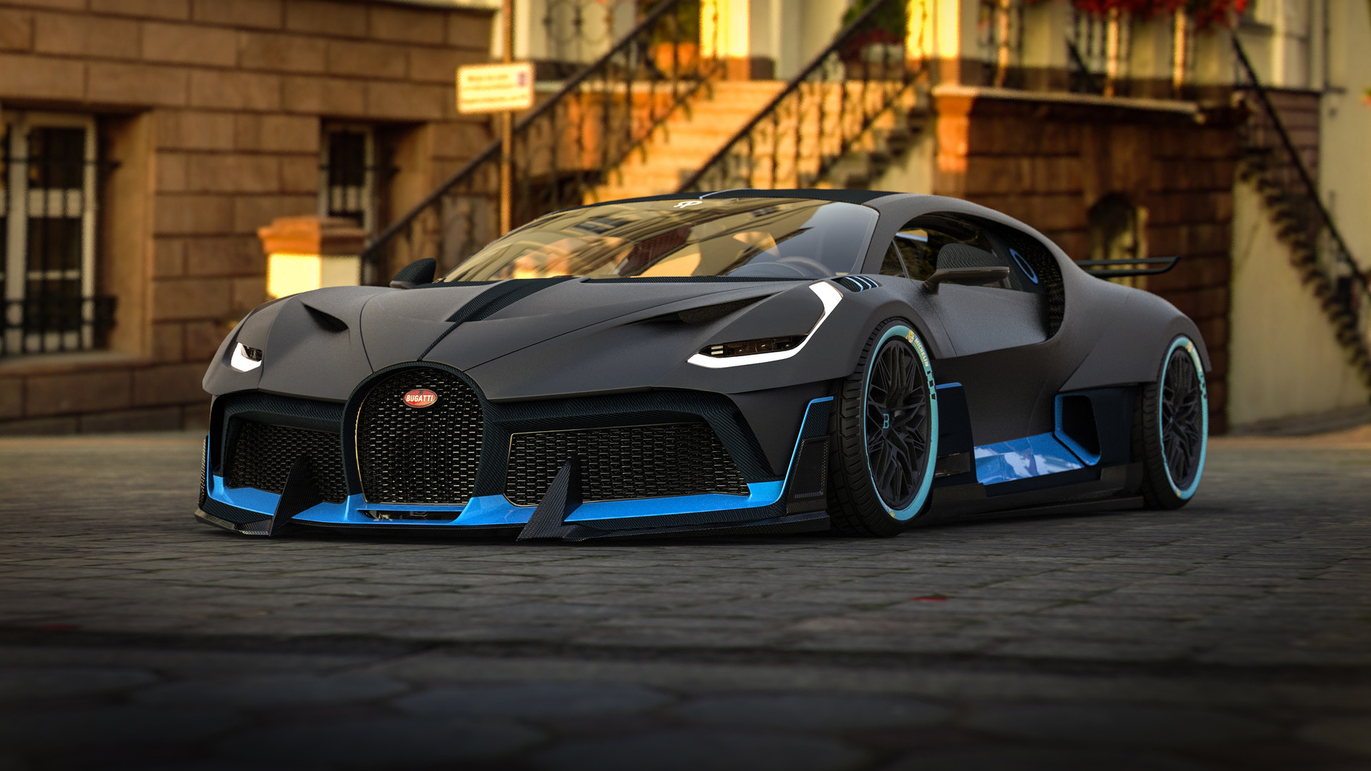 1920x1080 Bugatti Divo 2018 Art Laptop Full Hd 1080p Hd 4k Wallpapers Images Backgrounds Photos And Pictures