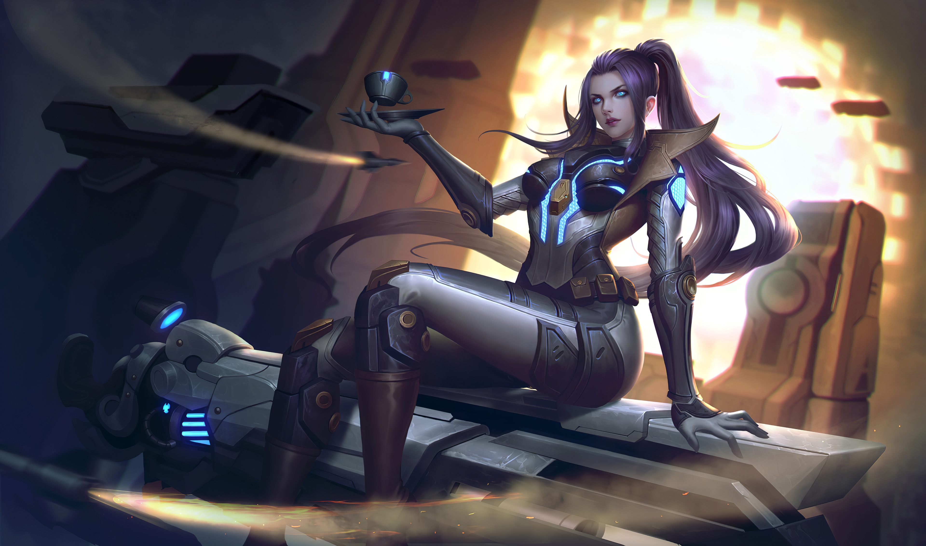 Caitlyn Lol Art 4k Hd Games 4k Wallpapers Images Backgrounds