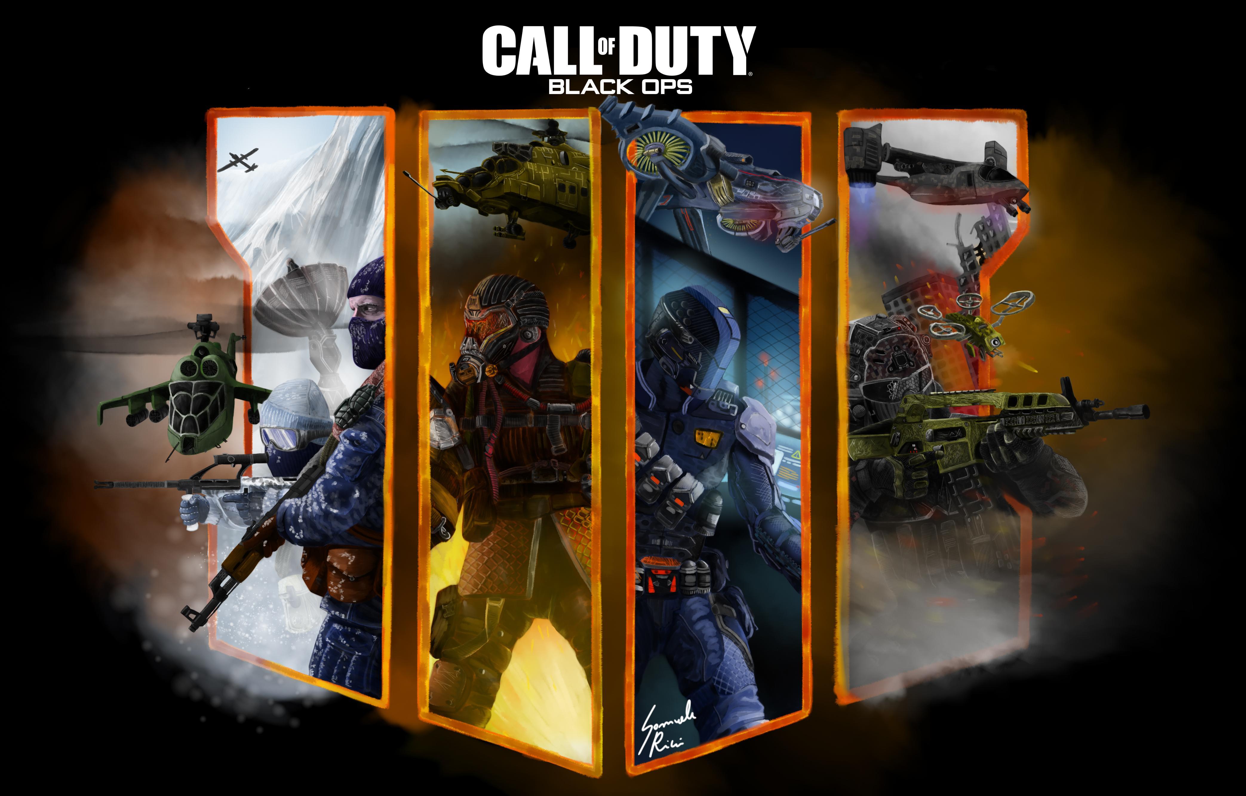 Call Of Duty Black Ops 4 Fan Art 4k Hd Games 4k Wallpapers