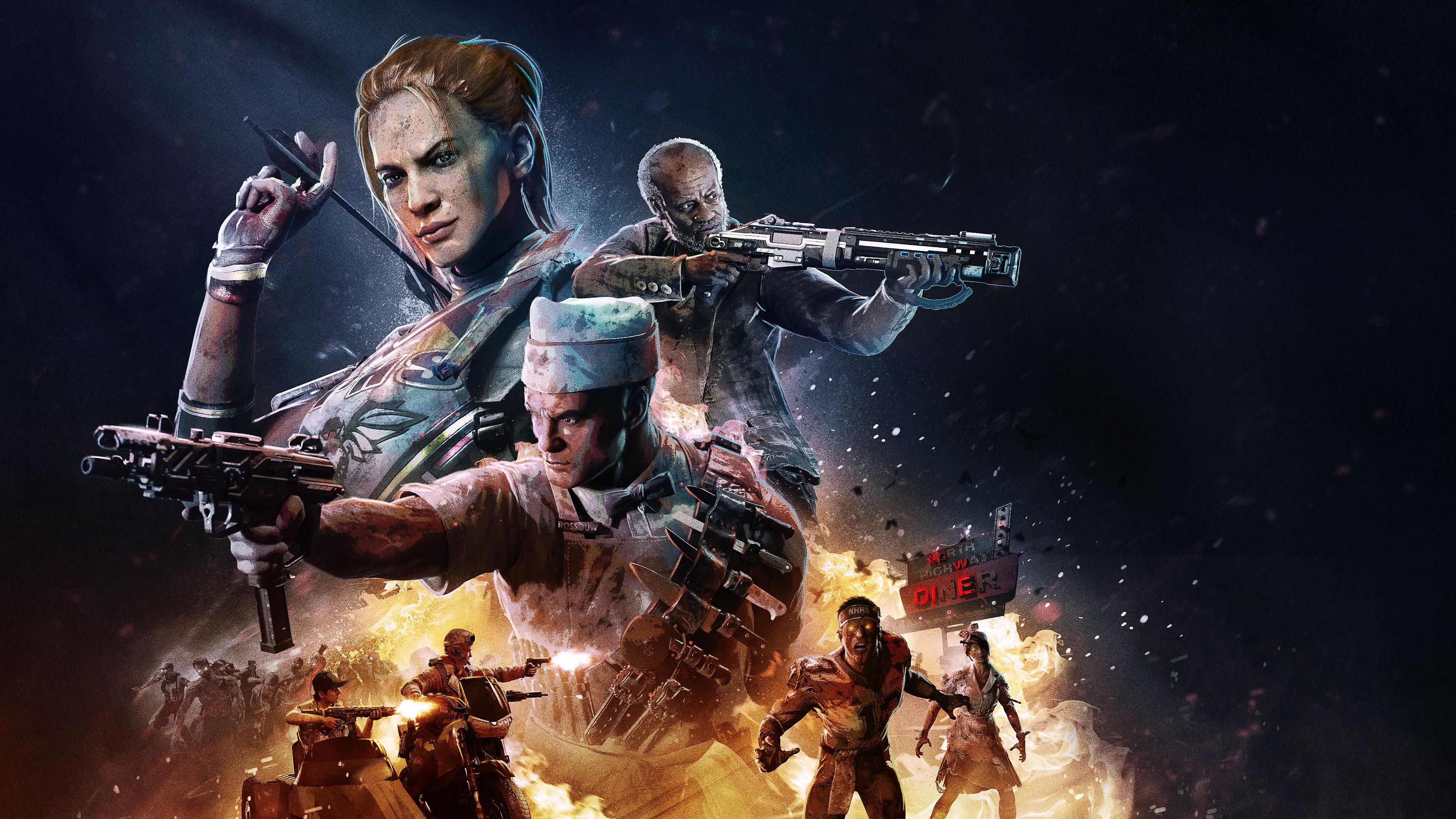 Call Of Duty Black Ops 4 Operation Apocalypse Z Key Art Hd Games