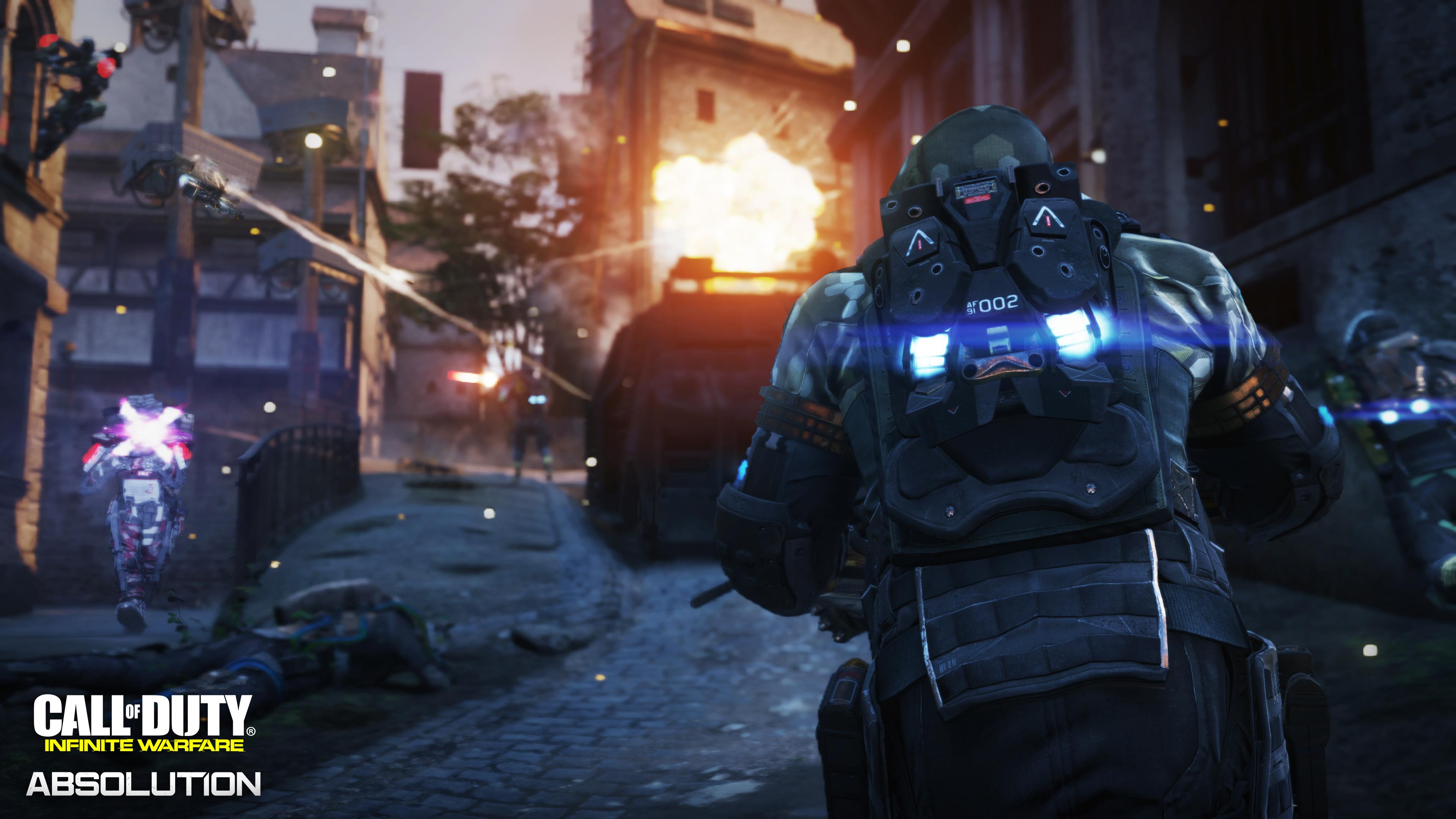 Call Of Duty Infinite Warfare Absolution Dlc3 2017 Hd Games 4k