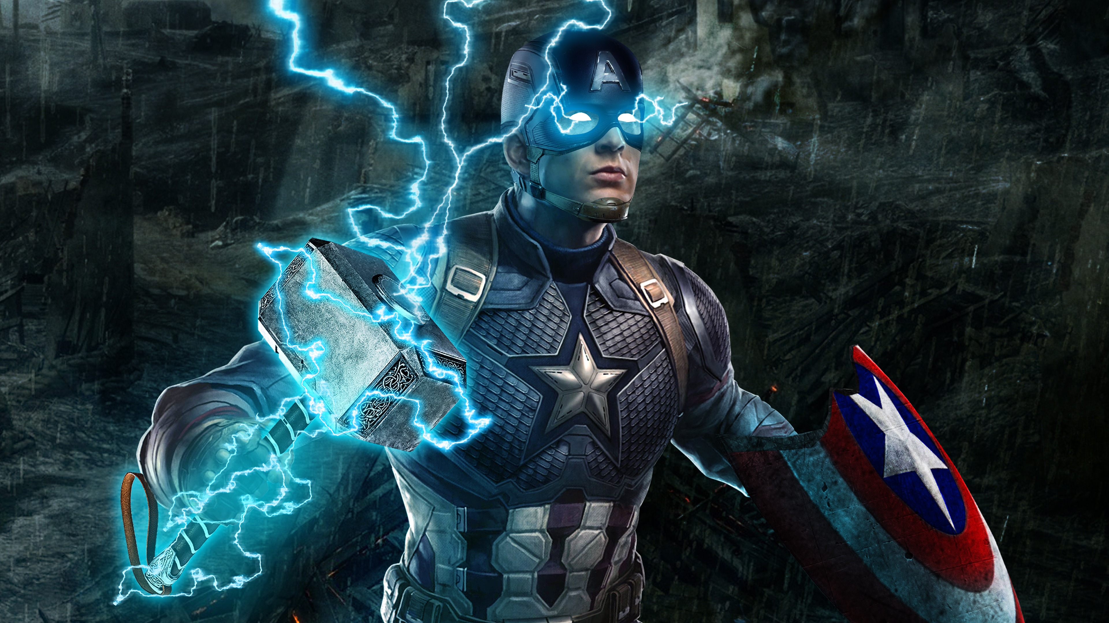 Captain America Avengers Endgame 4k Hd Superheroes 4k Wallpapers