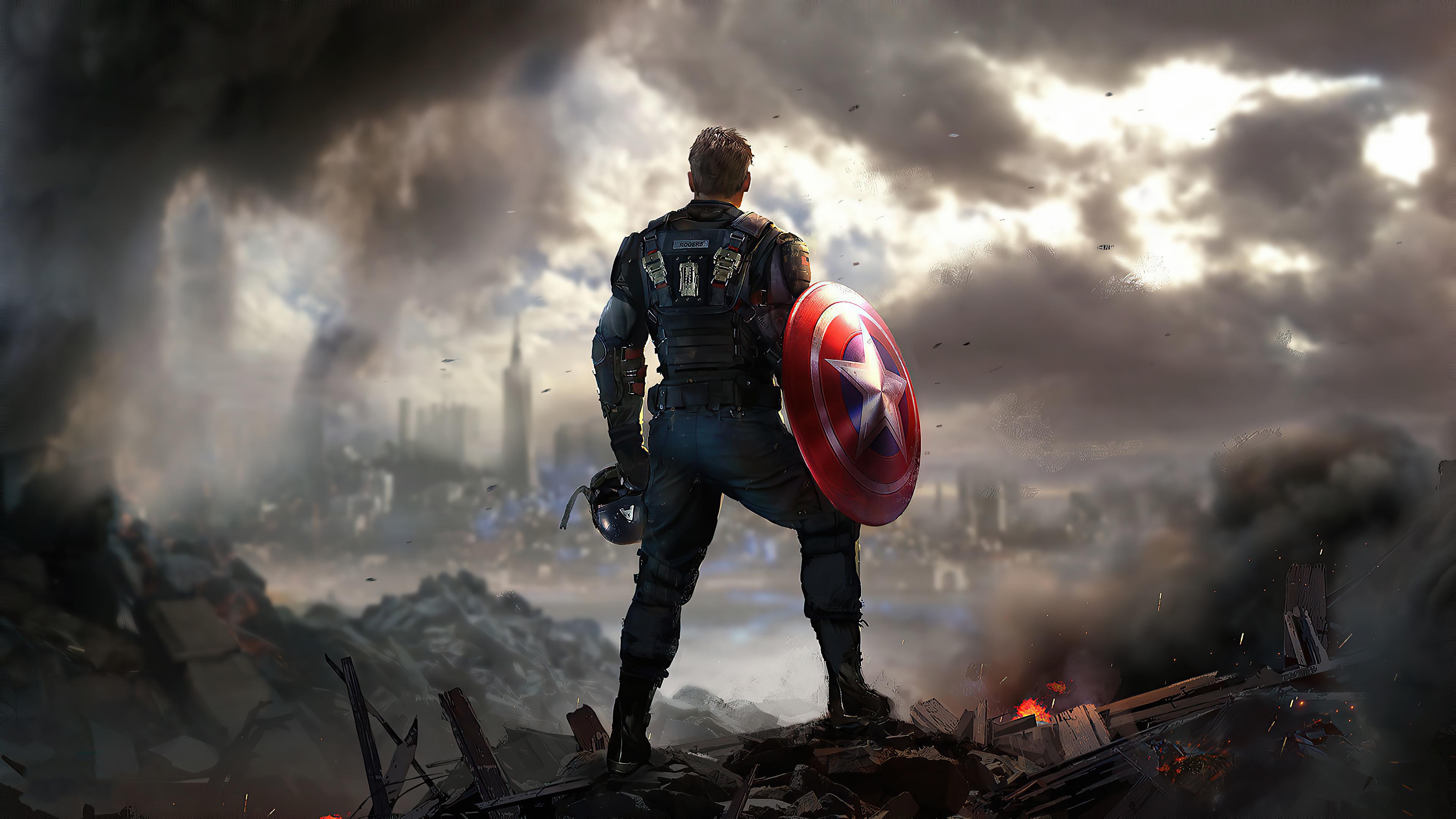 2560x1440 Captain America Marvels ...
