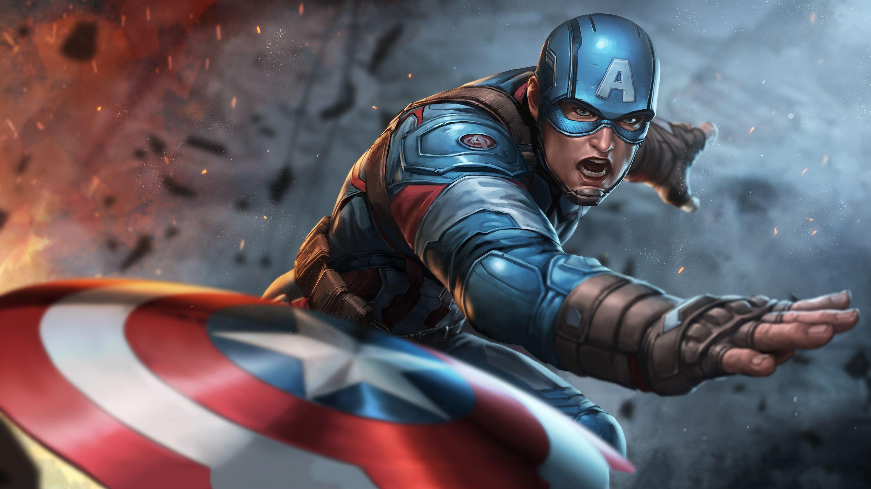 Captain America Throwing Shield Hd Superheroes 4k Wallpapers