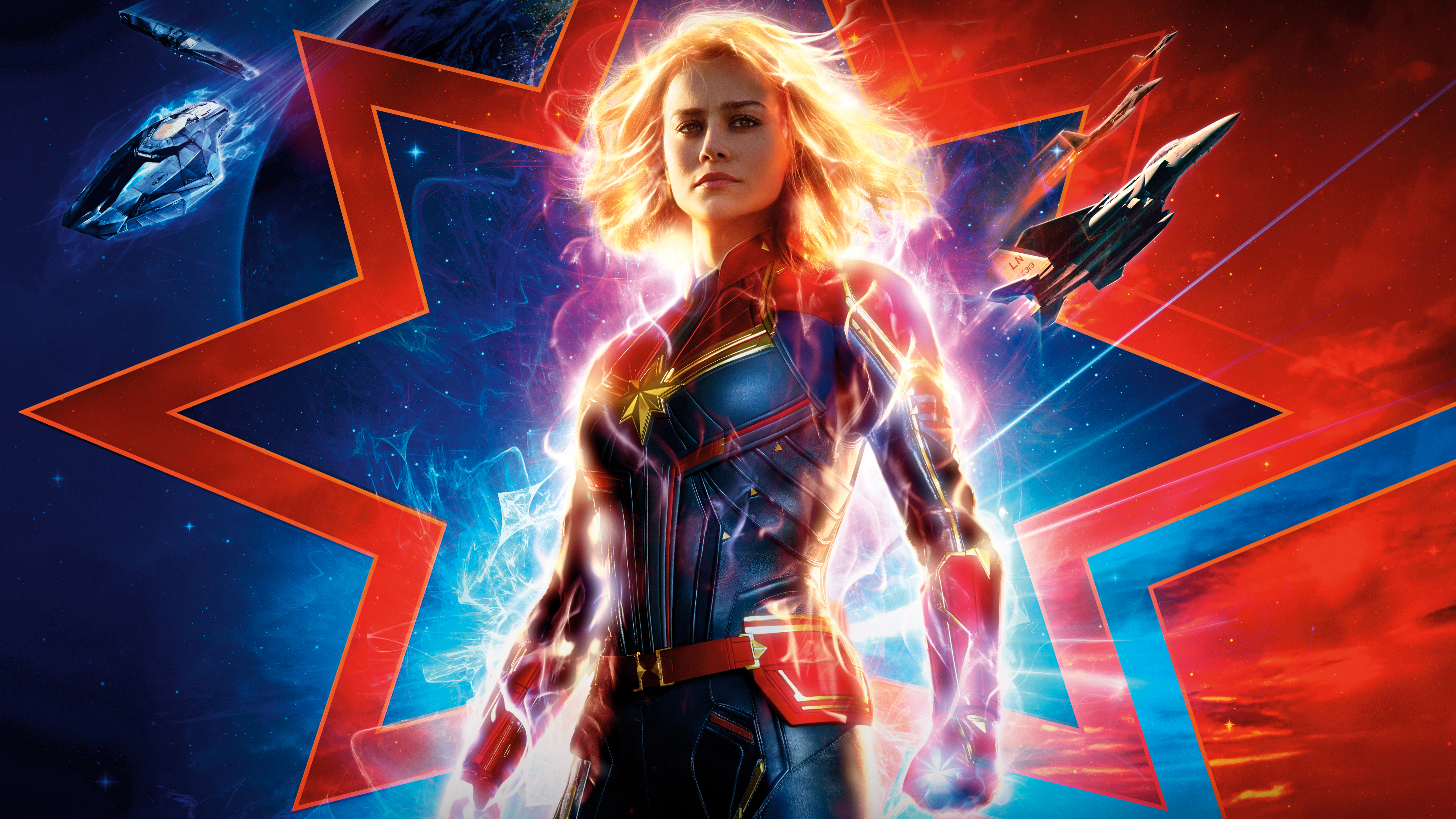Captain Marvel 2019 10k, HD Movies, 4k Wallpapers, Images ...