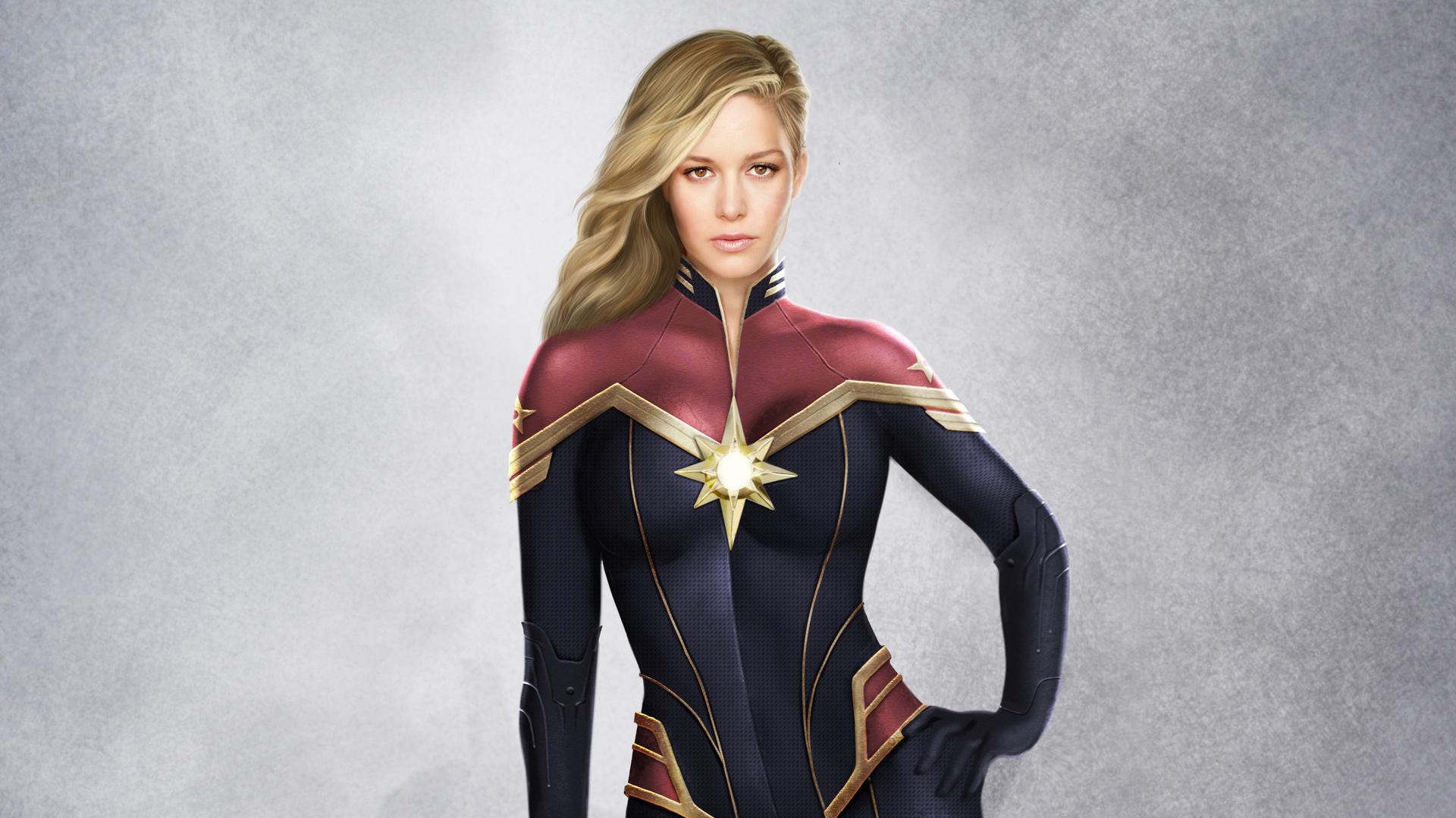 Captain Marvel Artwork 2019, HD Movies, 4k Wallpapers ...