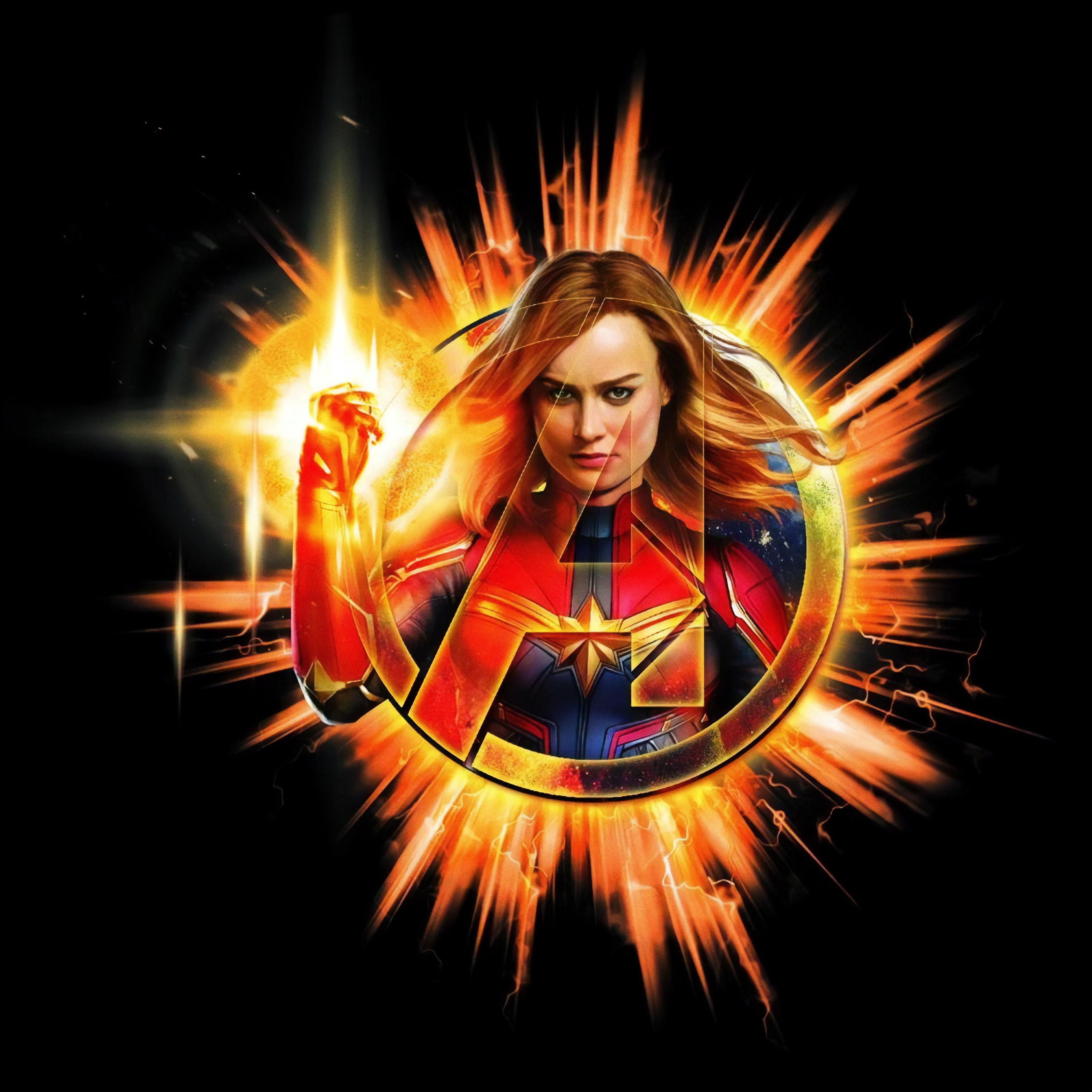 Captain Marvel Avengers EndGame 2019 4k, HD Movies, 4k