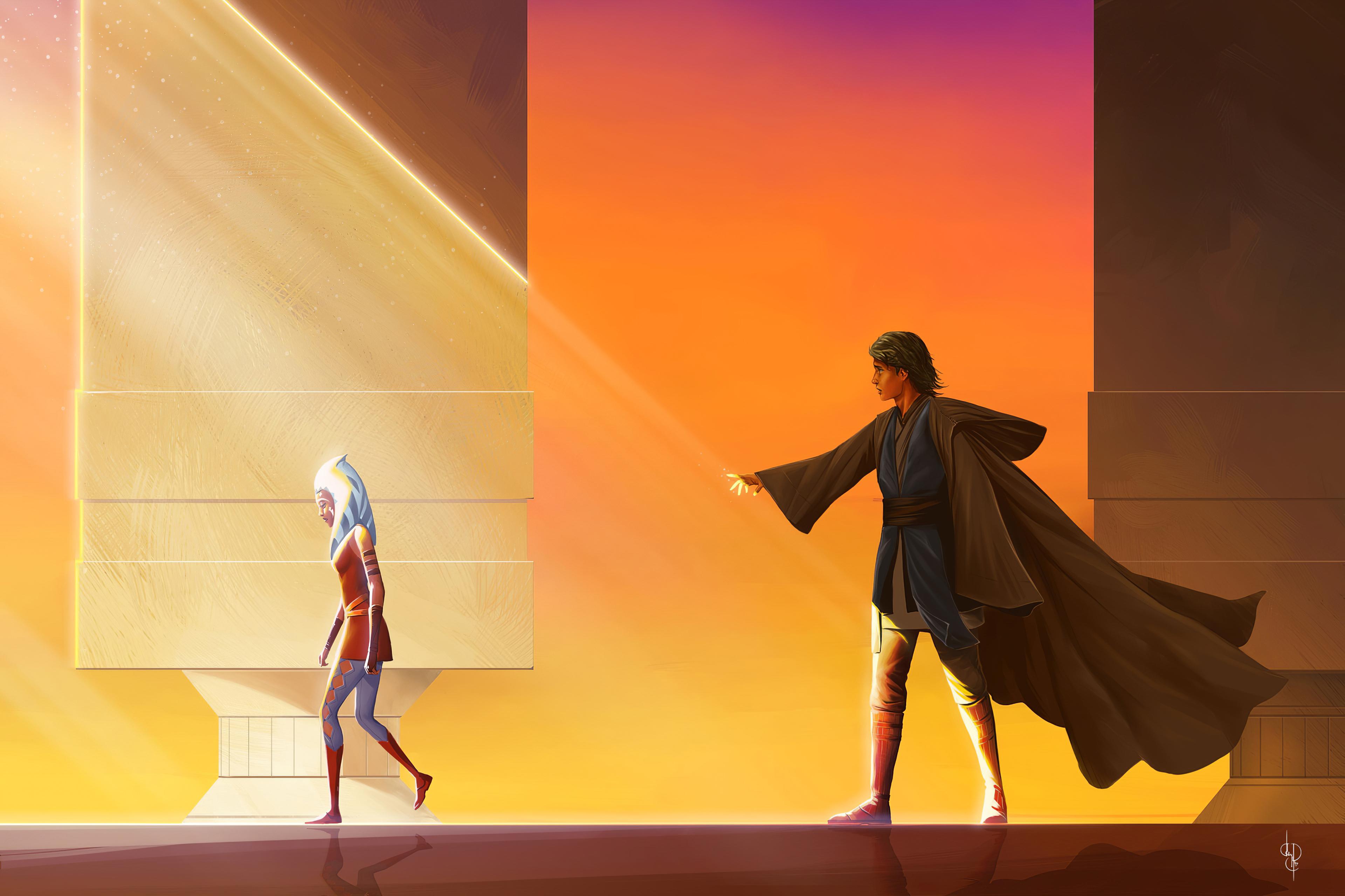 Captain Rex And Ahsoka Star Wars 4k Hd Artist 4k Wallpapers