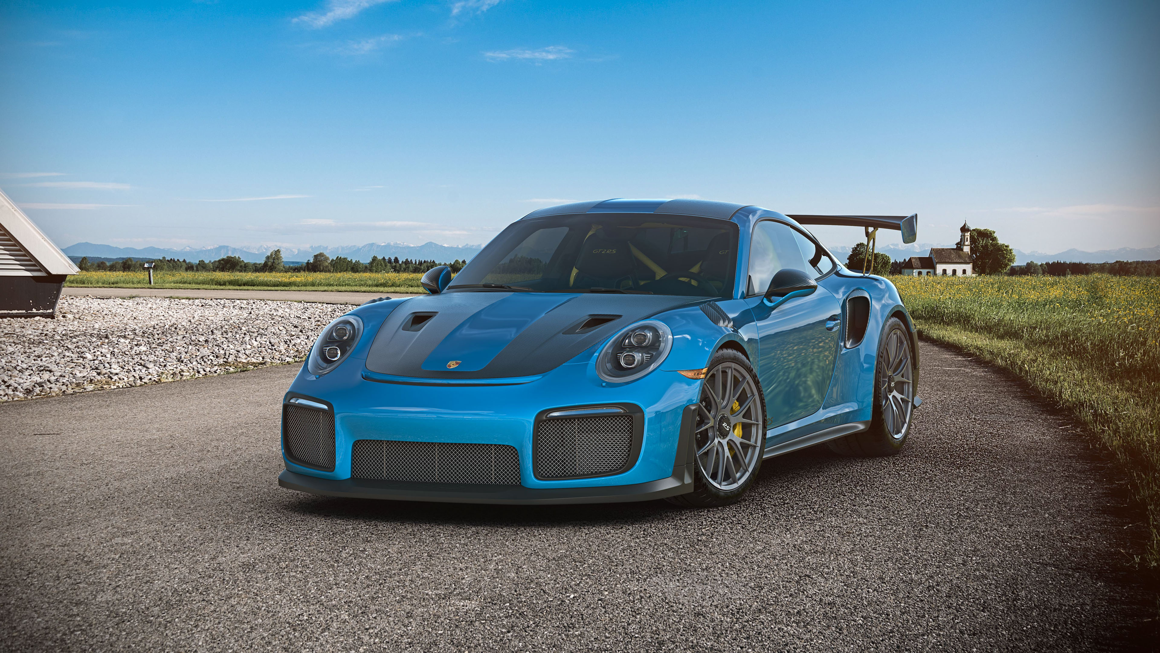 Cgi Porsche Gt2 Rs Hd Cars 4k Wallpapers Images Backgrounds