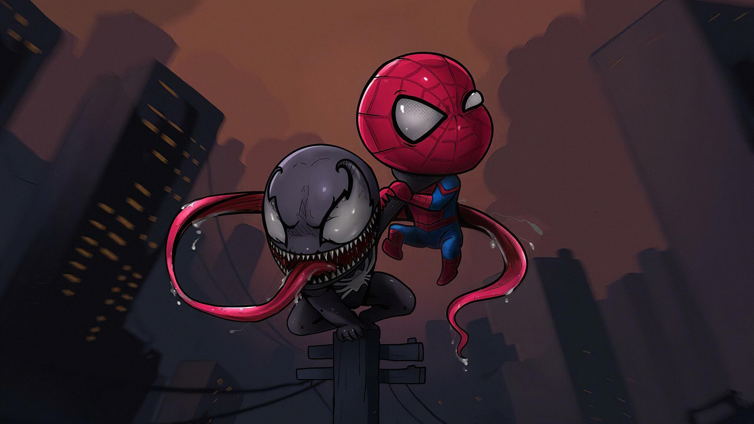 chibi spider venom v5