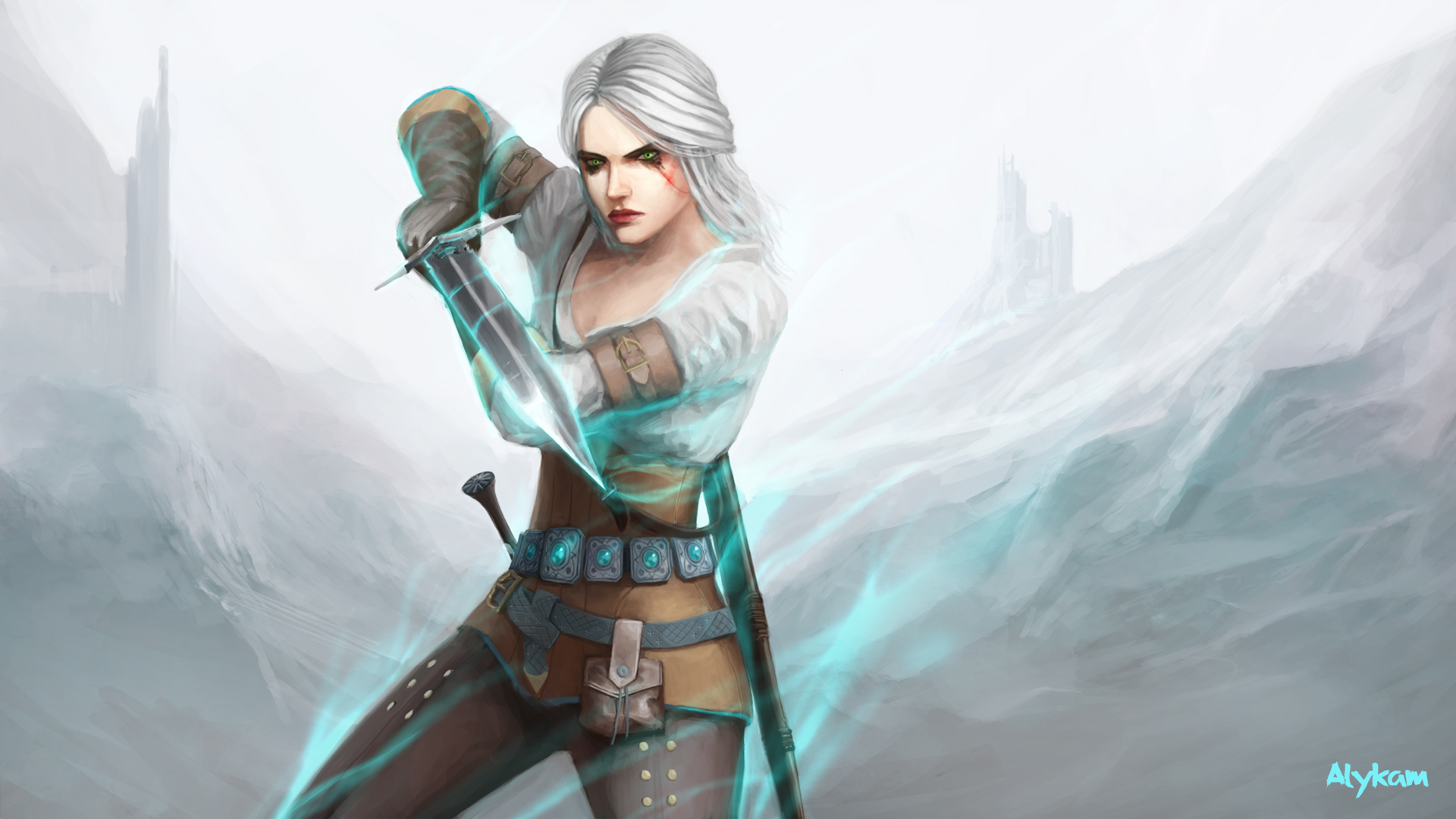 Ciri The Witcher 3 Wild Hunt Art Hd Games 4k Wallpapers Images