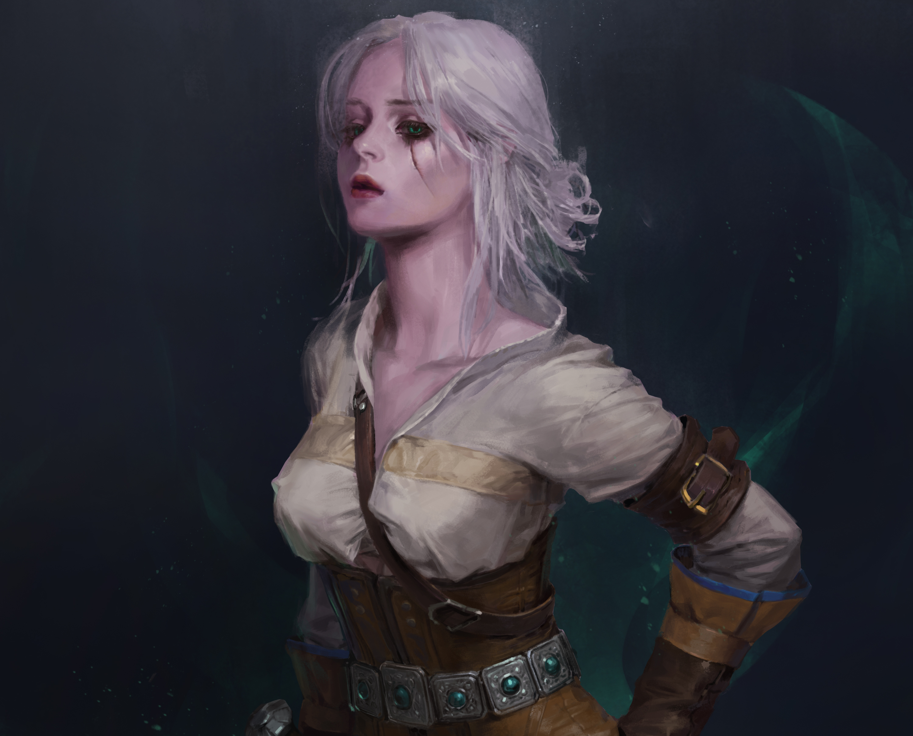 Ciri The Witcher 3 Wild Hunt Artwork Hd Games 4k Wallpapers