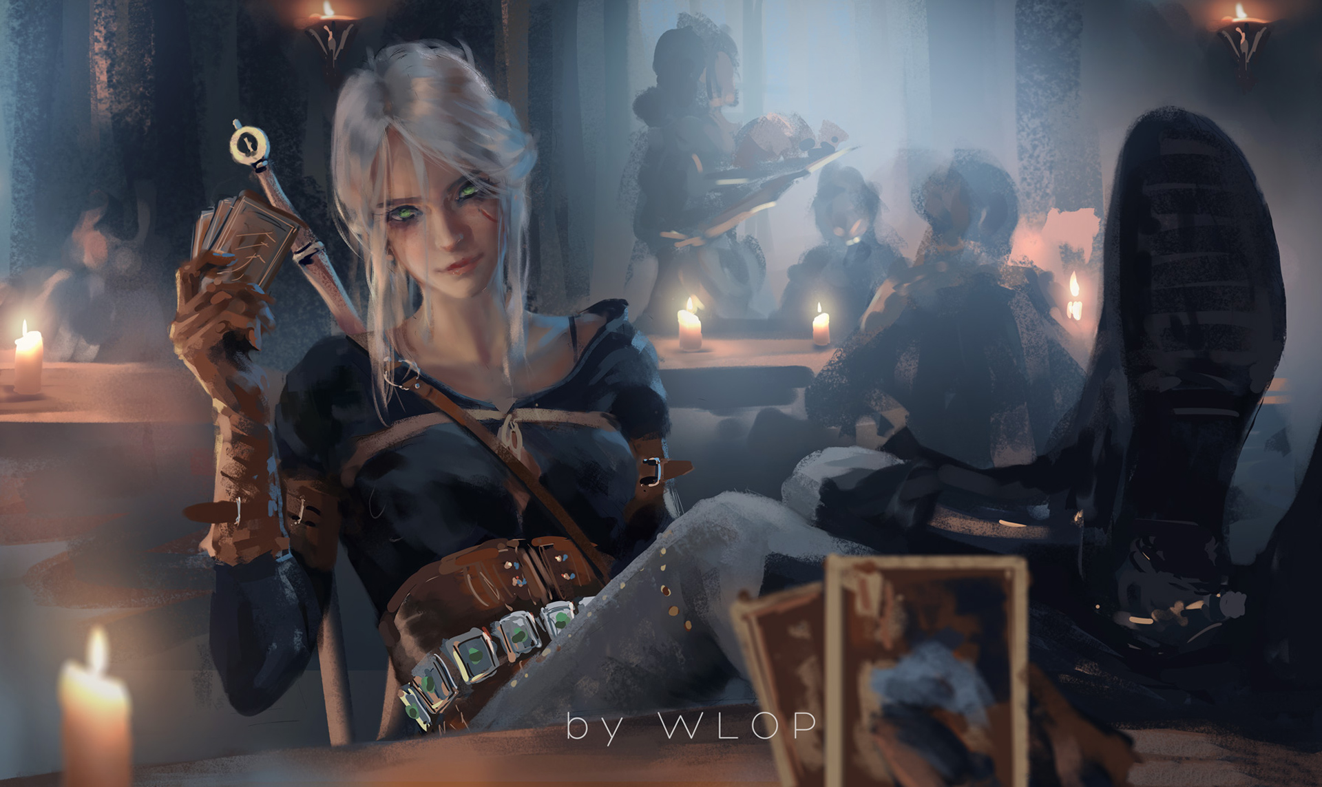 Ciri Witcher 3 Fanart Hd Games 4k Wallpapers Images Backgrounds Photos And Pictures