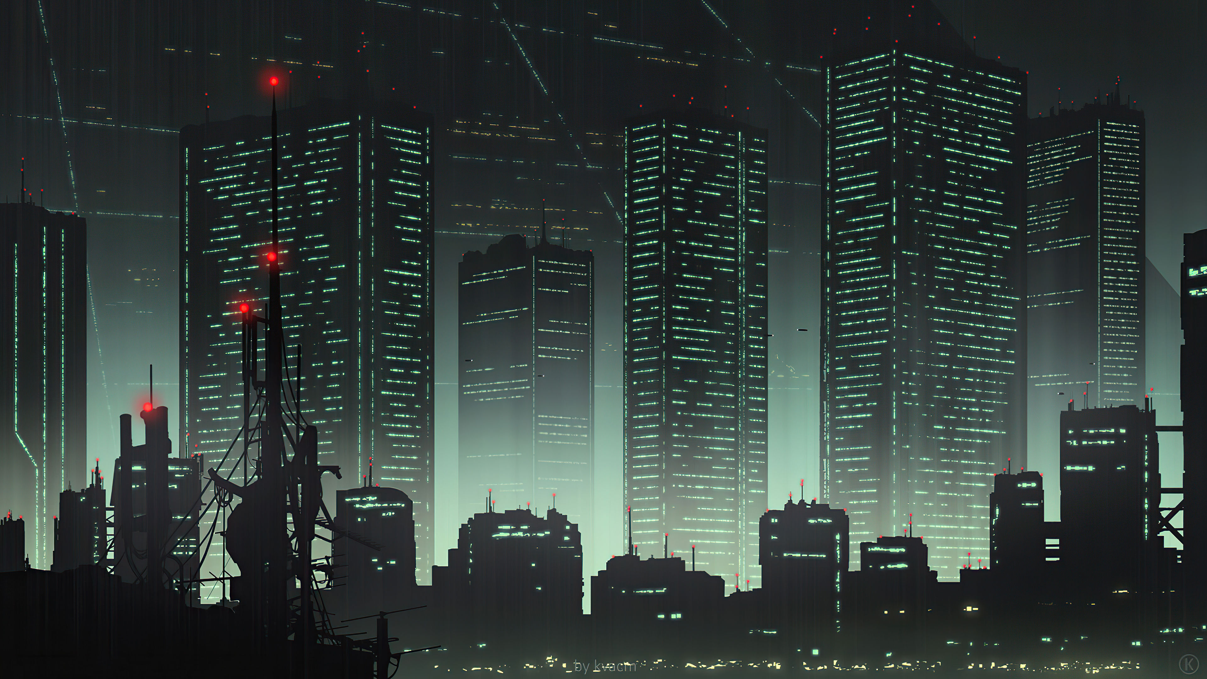 Cityscape 80s Anime 4k Hd Artist 4k Wallpapers Images Backgrounds Photos And Pictures