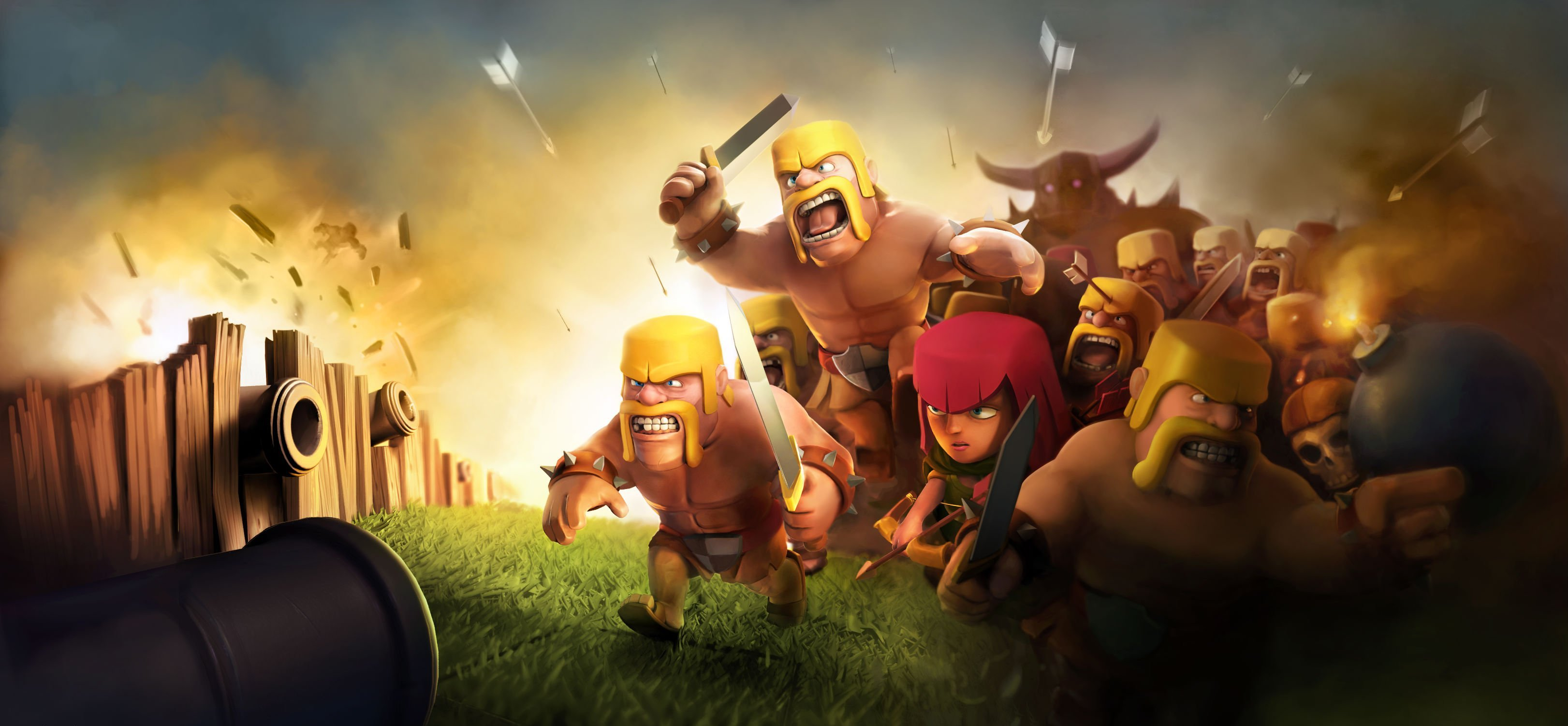 2048x1152 Clash Clans HD 2048x1152 Resolution HD 4k