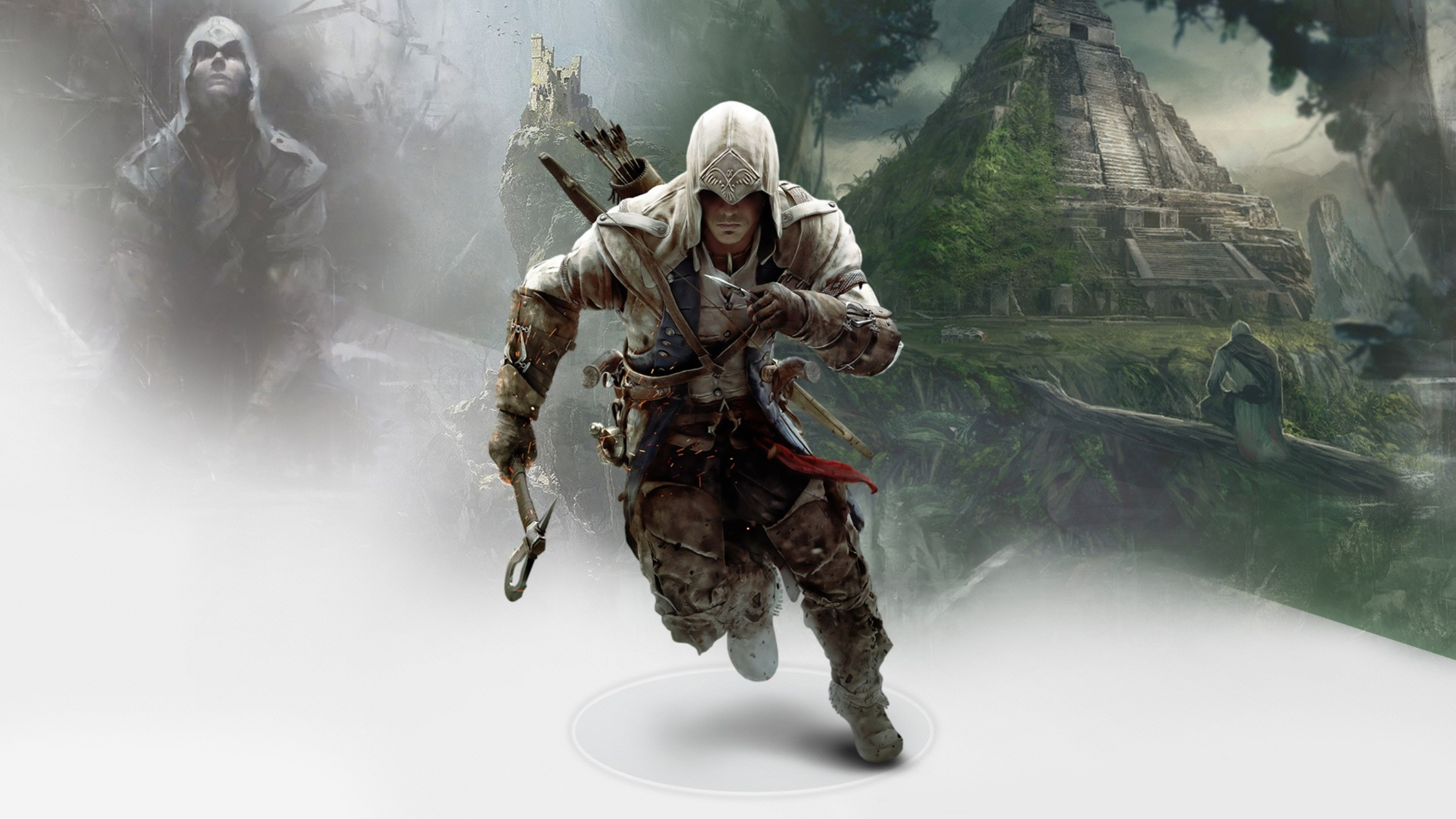 Connor In Assassins Creed 3 Hd Games 4k Wallpapers Images
