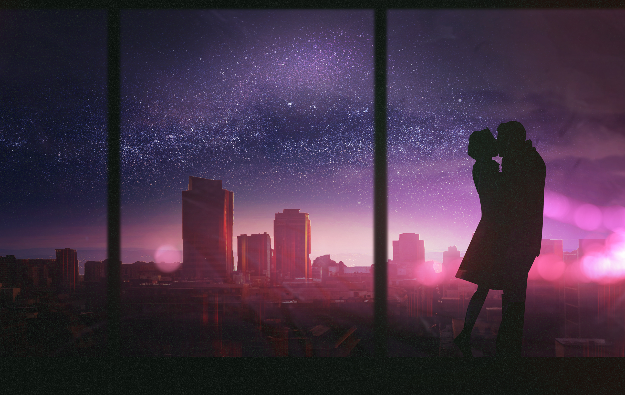 1242x2688 Couple Romantic Kissing Iphone Xs Max Hd 4k Wallpapers