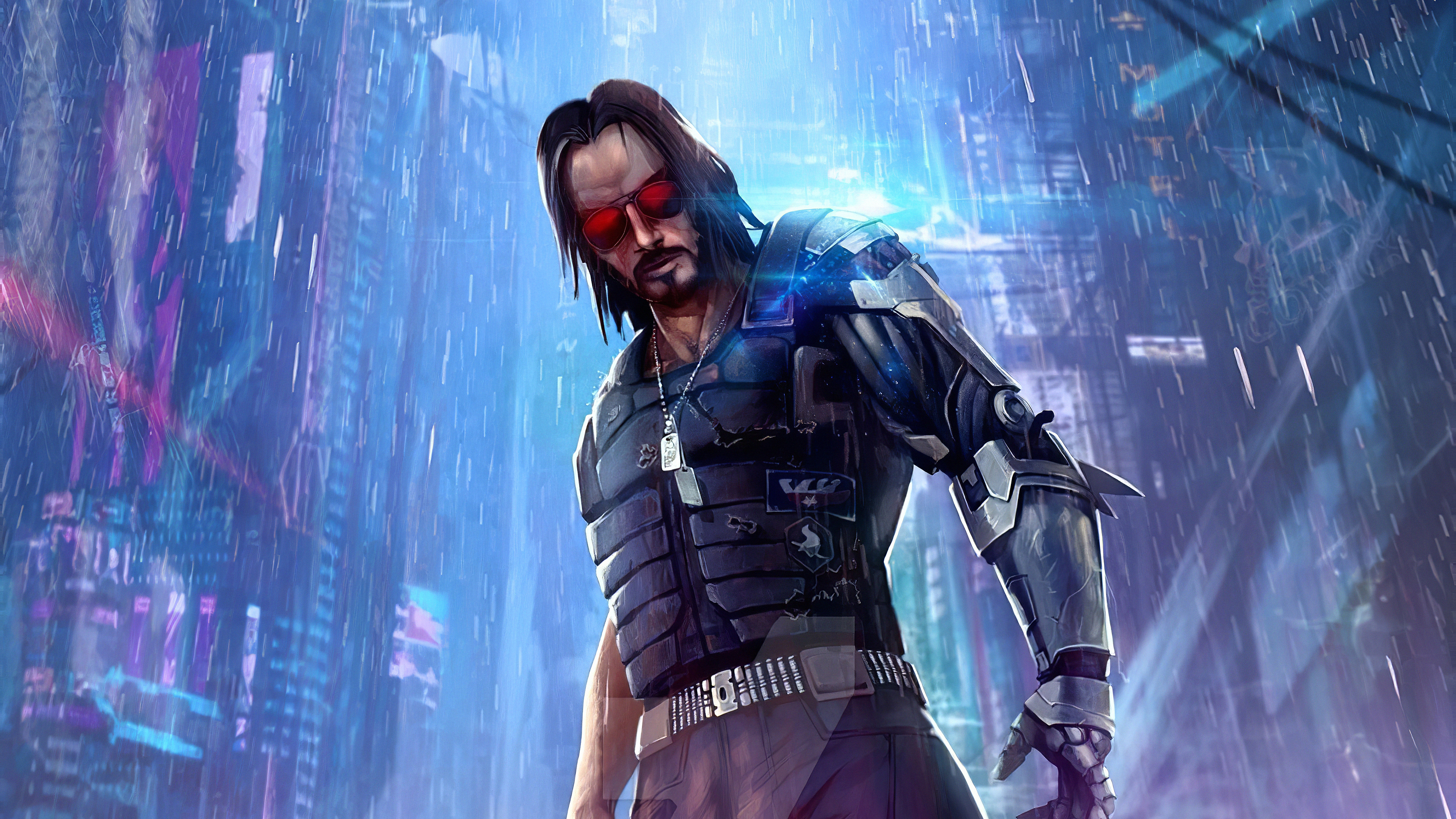 Cyberpunk 2077 Keanu, HD Games, 4k Wallpapers, Images ...