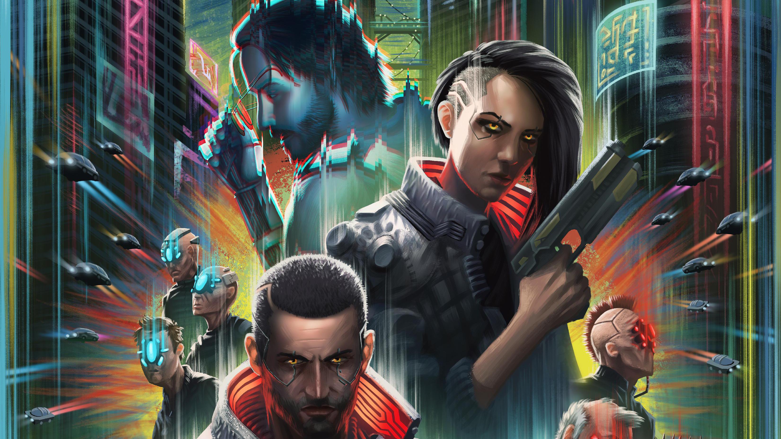 Cyberpunk 2077 New Art 4k, HD Games, 4k Wallpapers, Images ...
