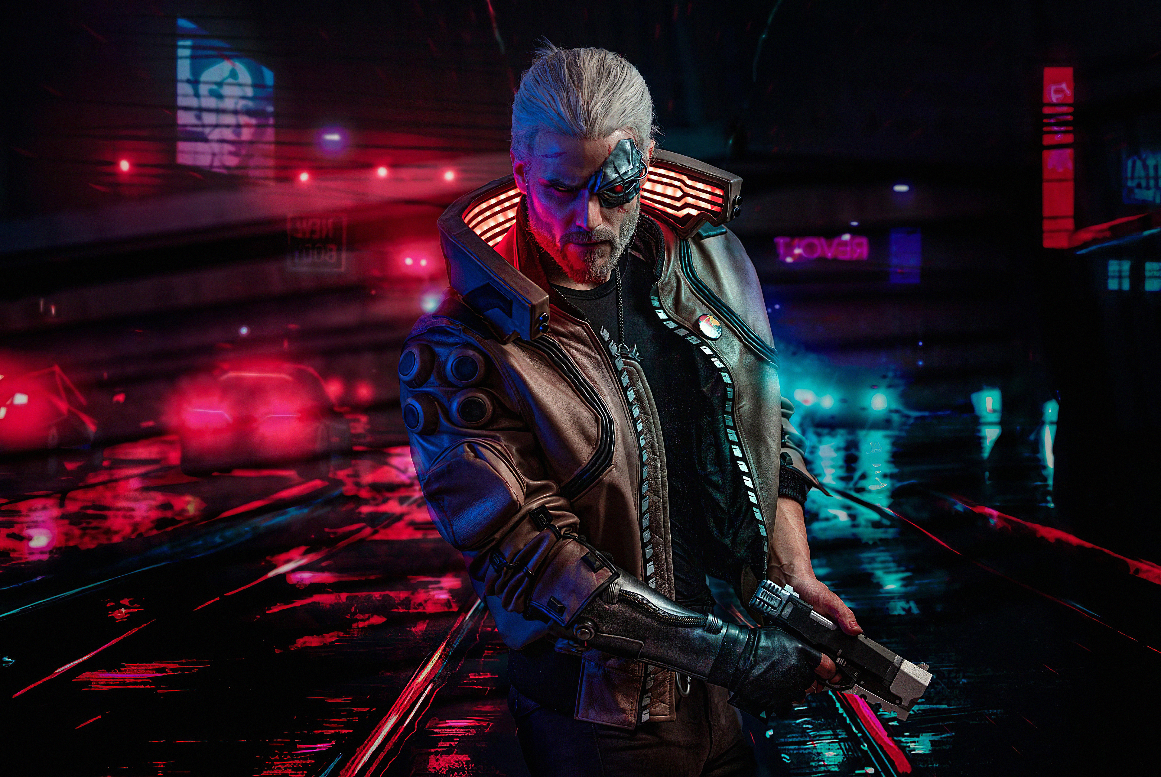 Cyberpunk 2077 Witcher, HD Games, 4k Wallpapers, Images ...