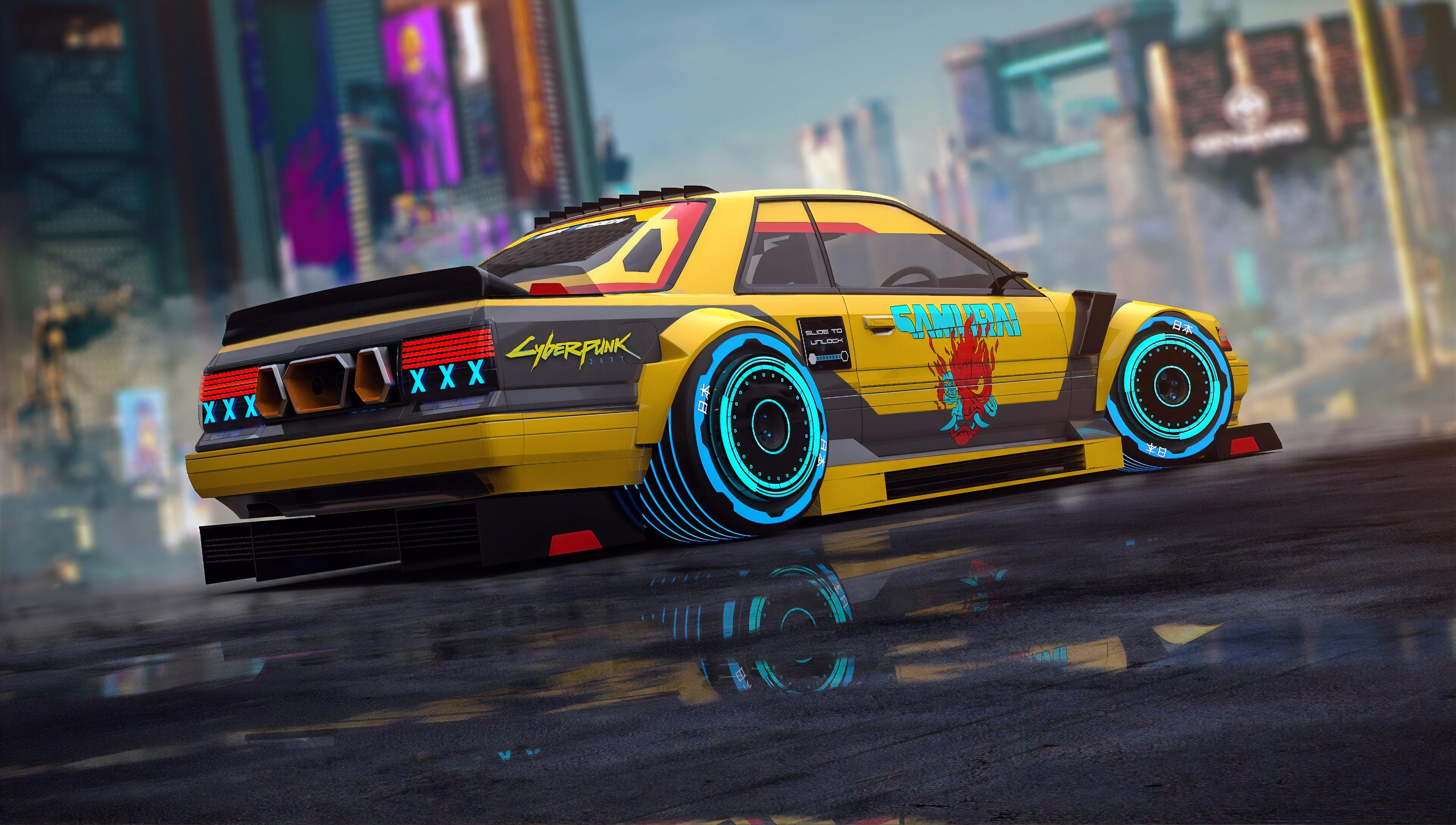 Cyberpunk Car Art 4k HD Games 4k Wallpapers