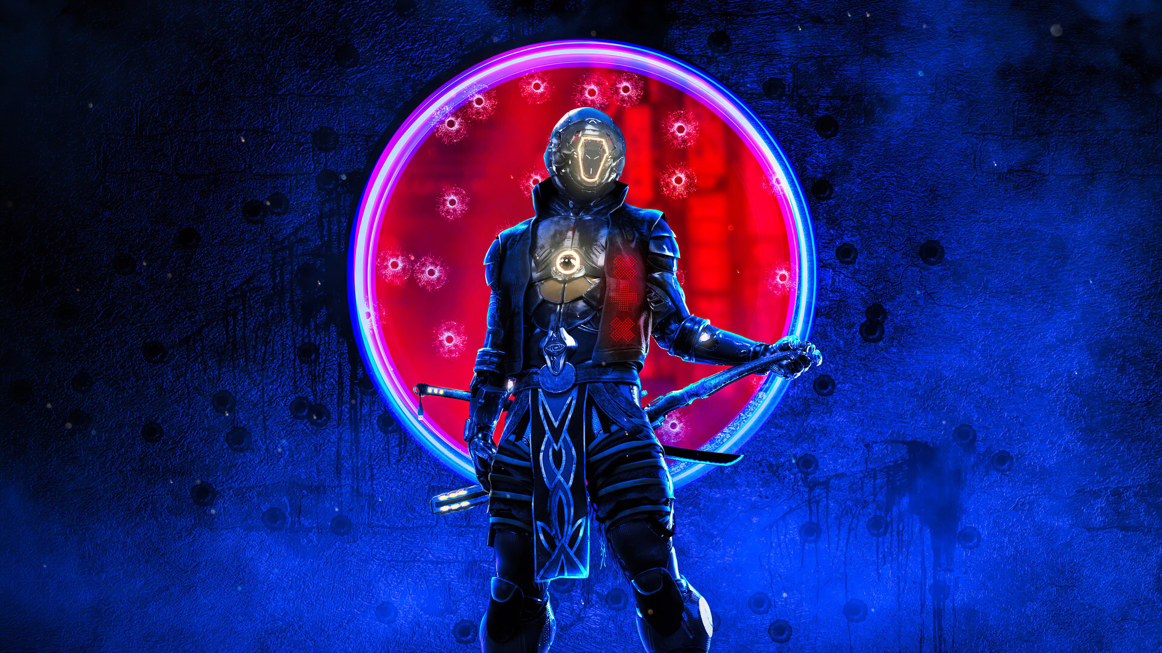 Cyberpunk Ninja, HD Artist, 4k Wallpapers, Images ...
