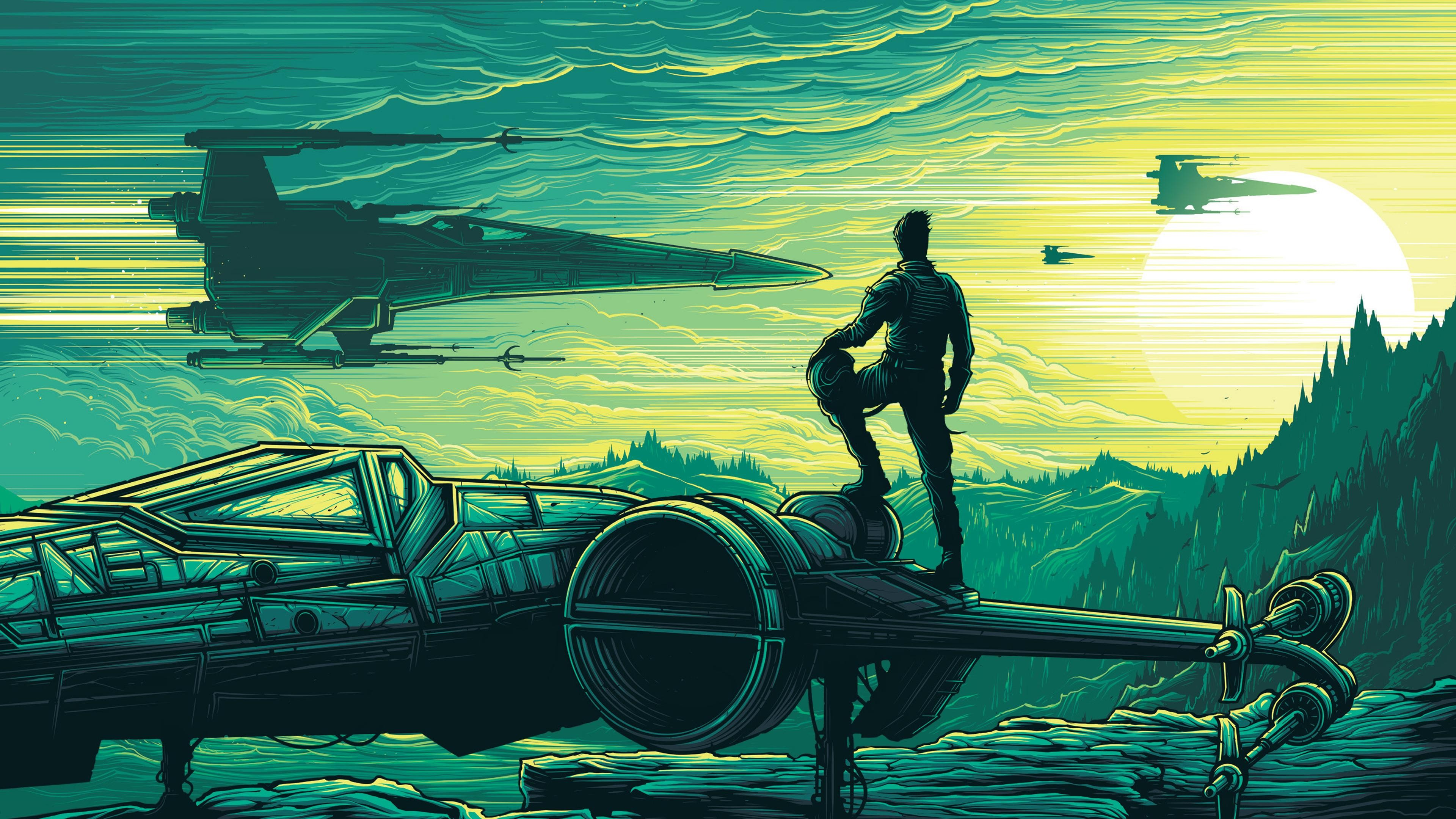 Dan Mumford Star Wars The Force Awakens 4k Hd Movies 4k Wallpapers Images Backgrounds Photos And Pictures