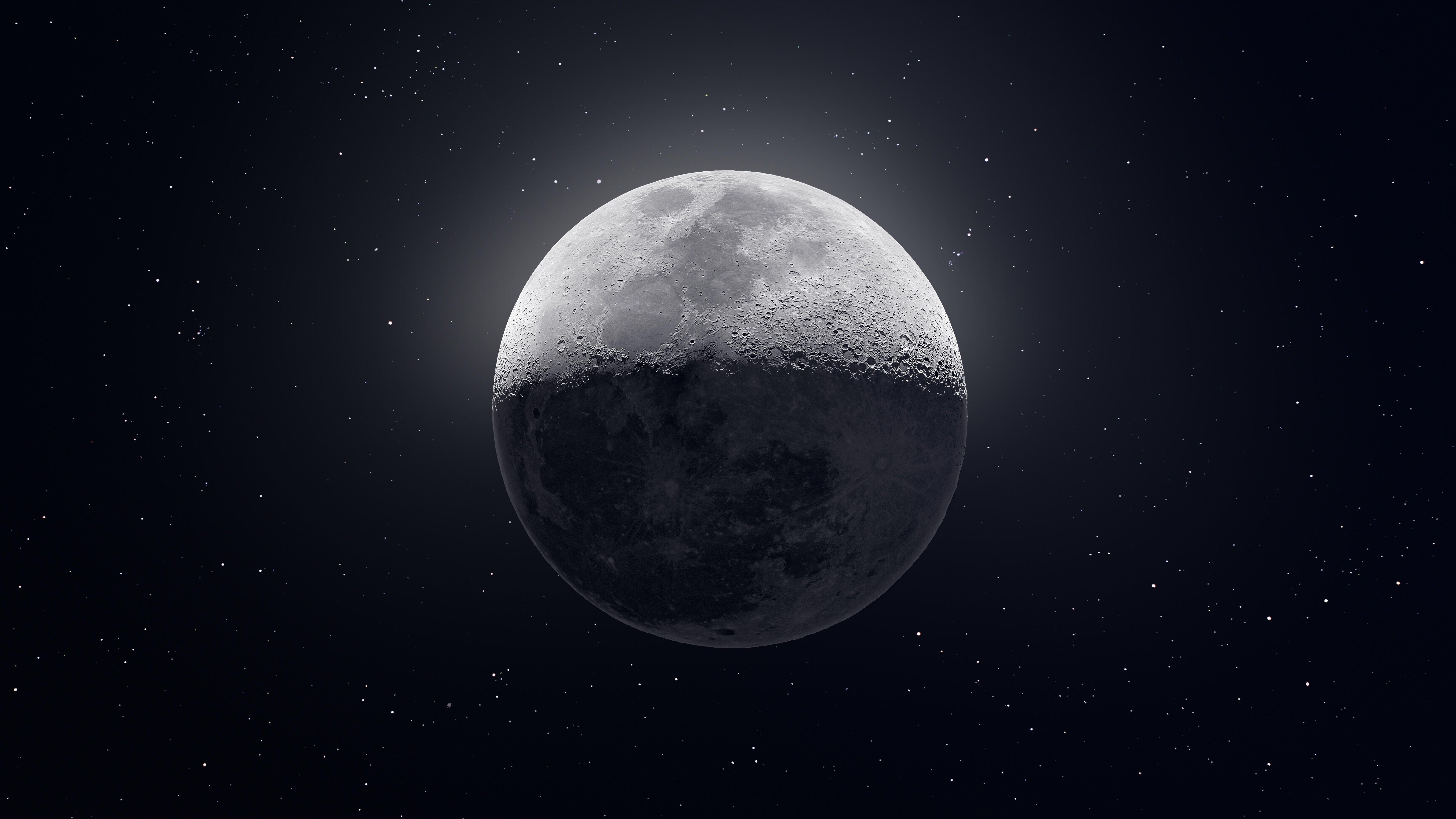Dark Moon 8k Hd Digital Universe 4k Wallpapers Images Backgrounds Photos And Pictures