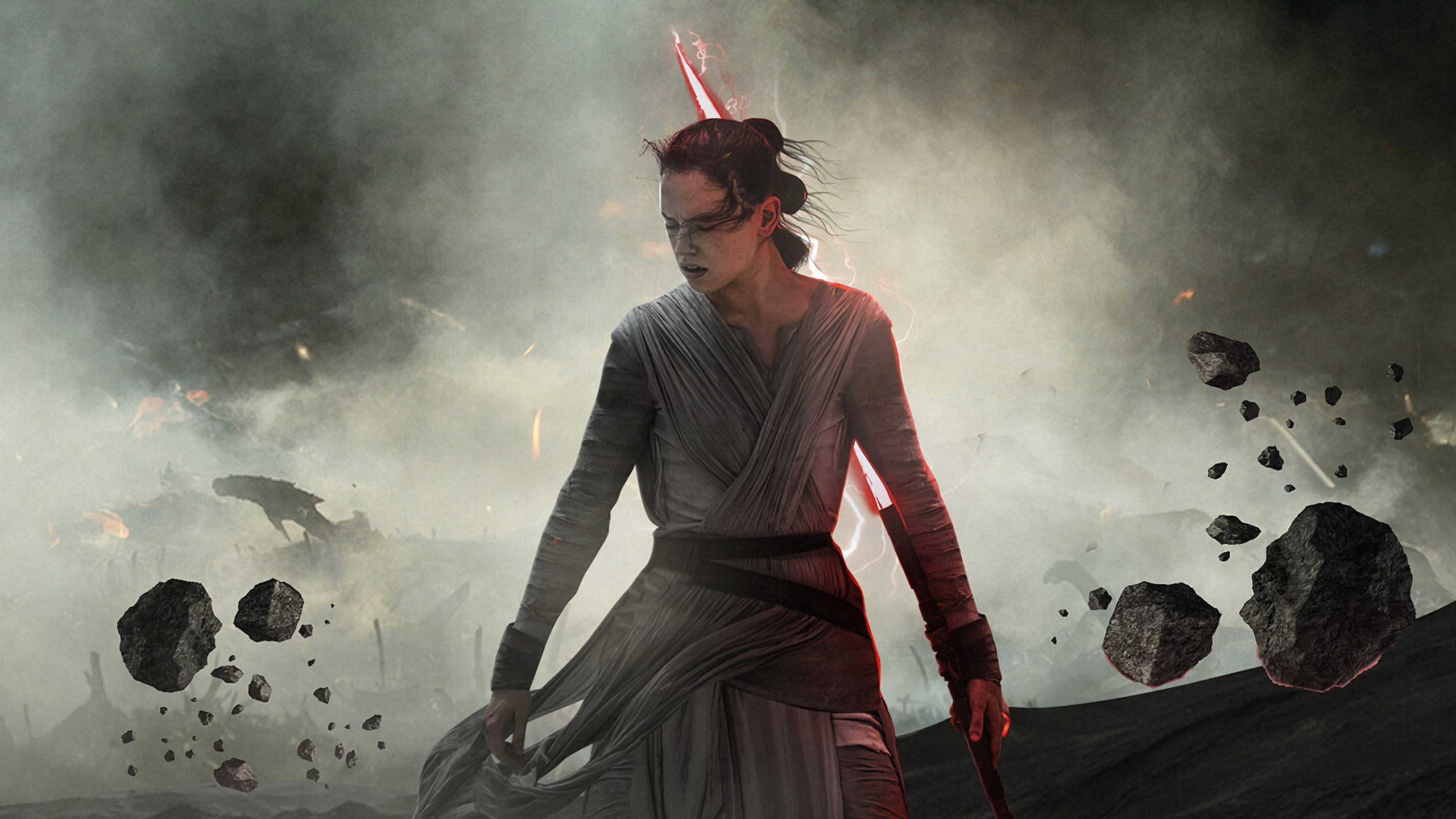 1360x768 Dark Rey Star Wars The Rise Of Skywalker Laptop Hd Hd 4k Wallpapers Images Backgrounds Photos And Pictures