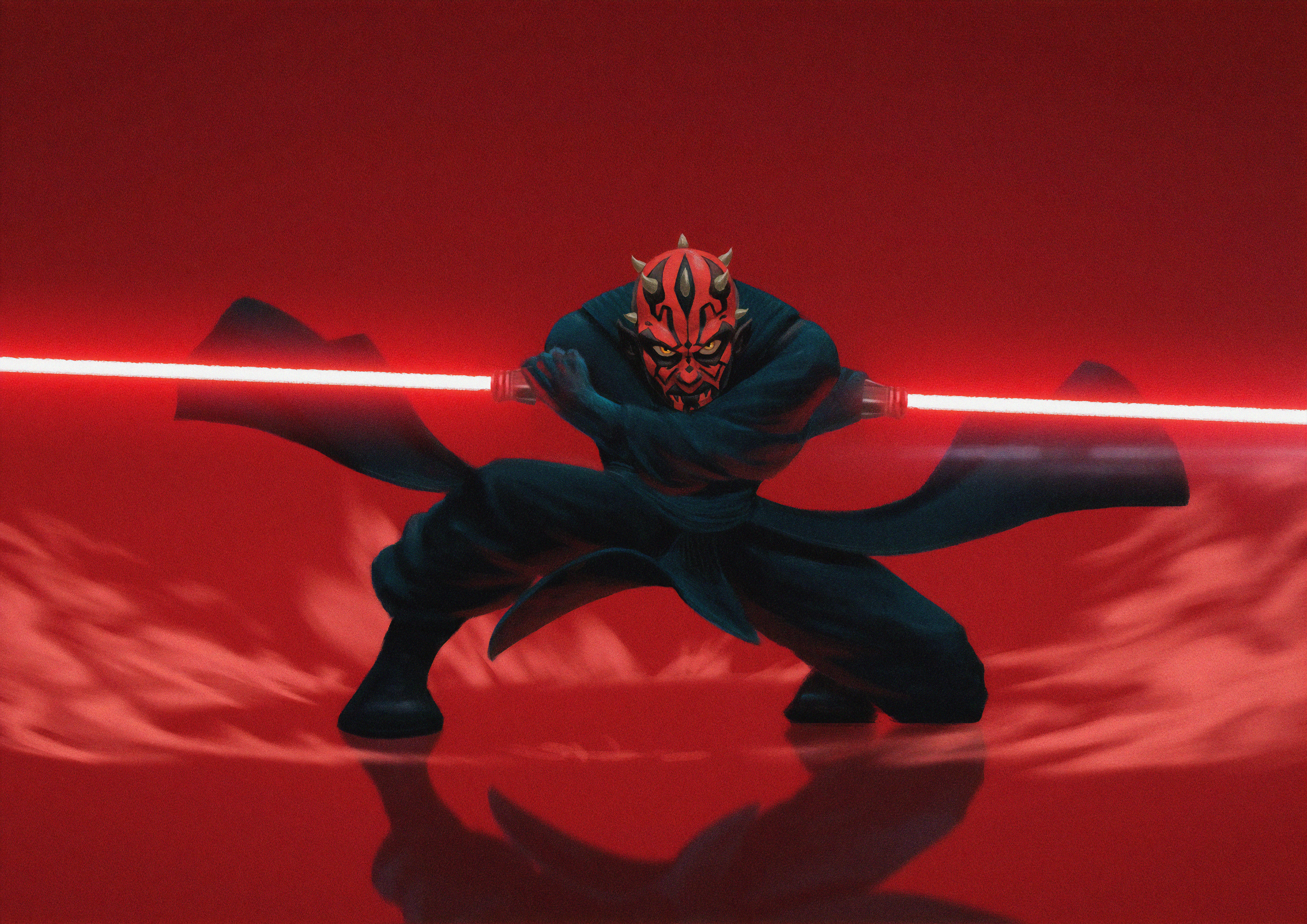 Darth Maul 4k Hd Artist 4k Wallpapers Images Backgrounds Photos And Pictures